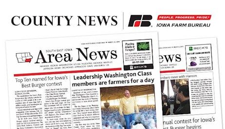 Nationally-recognized conservationist and celebrated Ida County farmer presented Distinguished Service to Ag Award at 100th Iowa Farm Bureau Annual Meeting